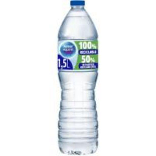 Oferta de Agua mineral natural AQUAREL, botella 1,5 litros por 0,49€
