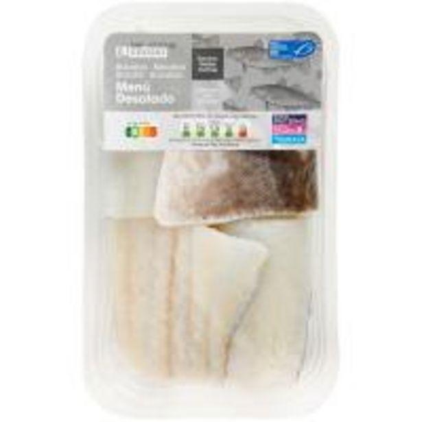 Oferta de Bacalao desalado menú MSC EROSKI, bandeja 400 g por 10,9€