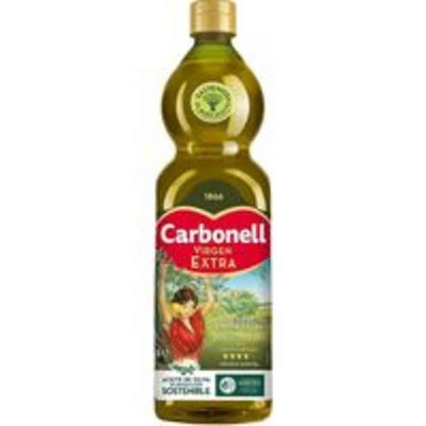 Oferta de Aceite de oliva virgen extra CARBONELL, botella 1 litro por 5,95€