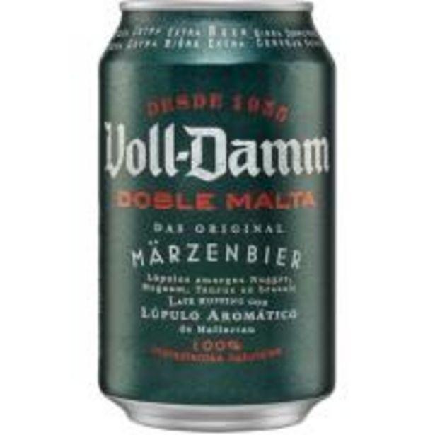 Oferta de Cerveza VOLL-DAMM, lata 33 cl por 0,7€