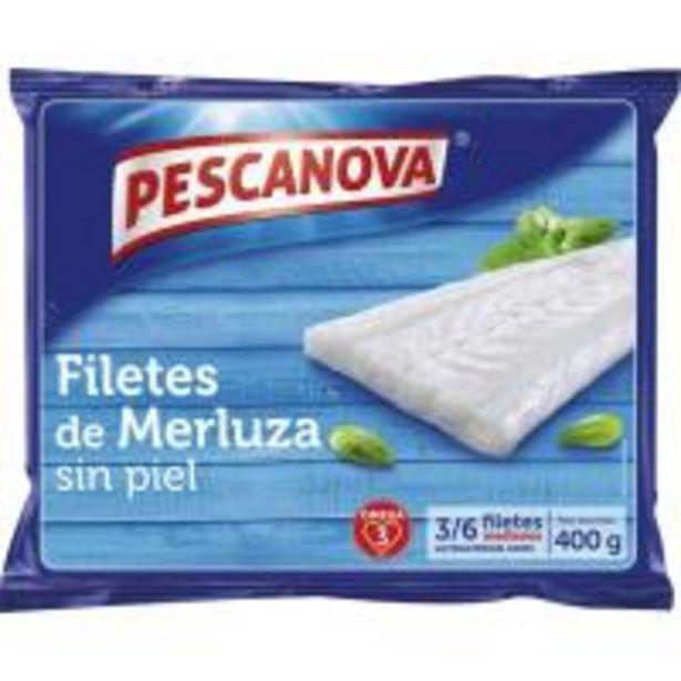 Oferta de Filetes de merluza sin piel PESCANOVA, bolsa 400 g por 4,39€