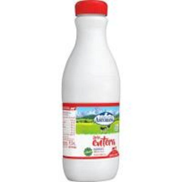 Oferta de Leche entera ASTURIANA, botella 1,5 litros por 1,19€