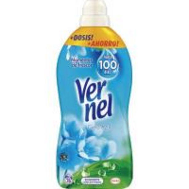 Oferta de Suavizante concentrado azul VERNEL, botella 76 dosis por 3,29€