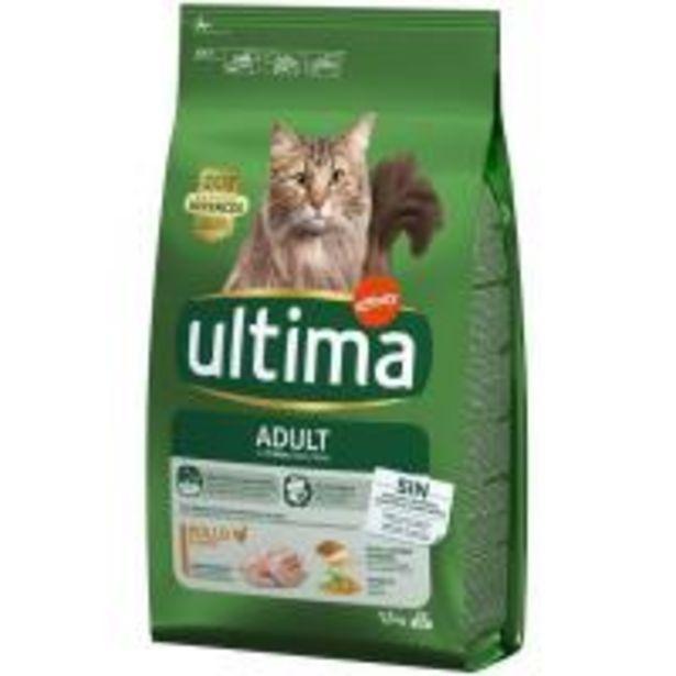 Oferta de Alimento de pollo-arroz gato adulto ULTIMA, saco 1,5 kg por 6,49€