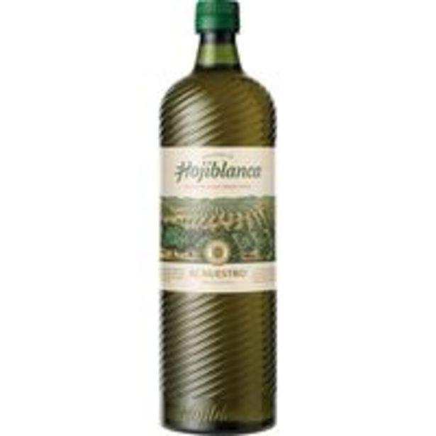 Oferta de Aceite de oliva virgen extra HOJIBLANCA, botella 1 litro por 4,79€
