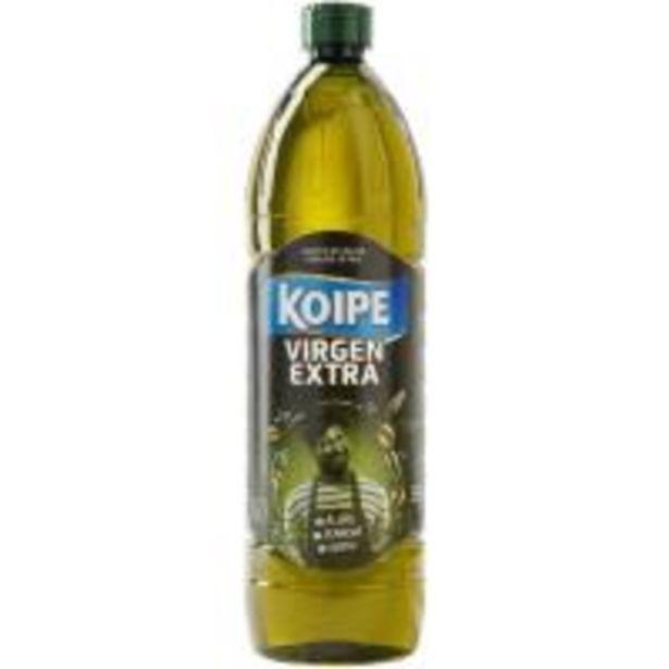 Oferta de Aceite de oliva virgen extra KOIPE, botella 1 litro por 5,85€