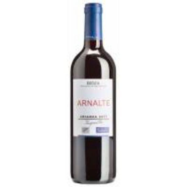 Oferta de Vino Tinto Crianza Rioja ARNALTE, botella 75 cl por 2,75€