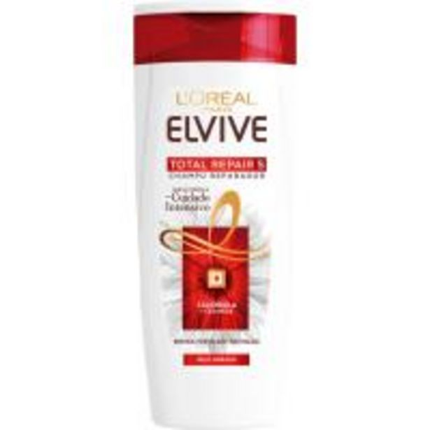Oferta de Champú Total Repair 5 ELVIVE, bote 370 ml por 3,99€