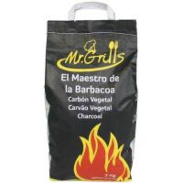 Oferta de Carbón vegetal  saco 3kg por 2,5€