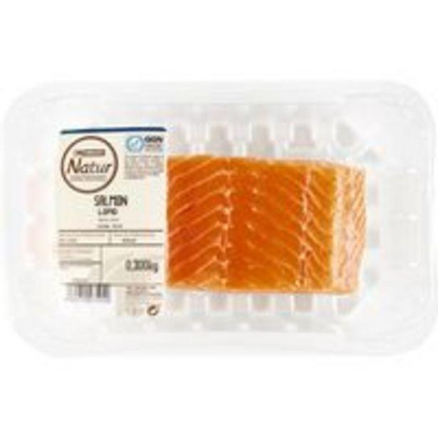 Oferta de Lomo de salmón EROSKI Natur GGN, bandeja 300 g por 7,95€