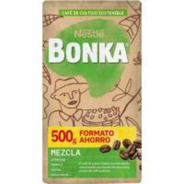 Oferta de Café molido mezcla BONKA, paquete 500 g por 3,8€