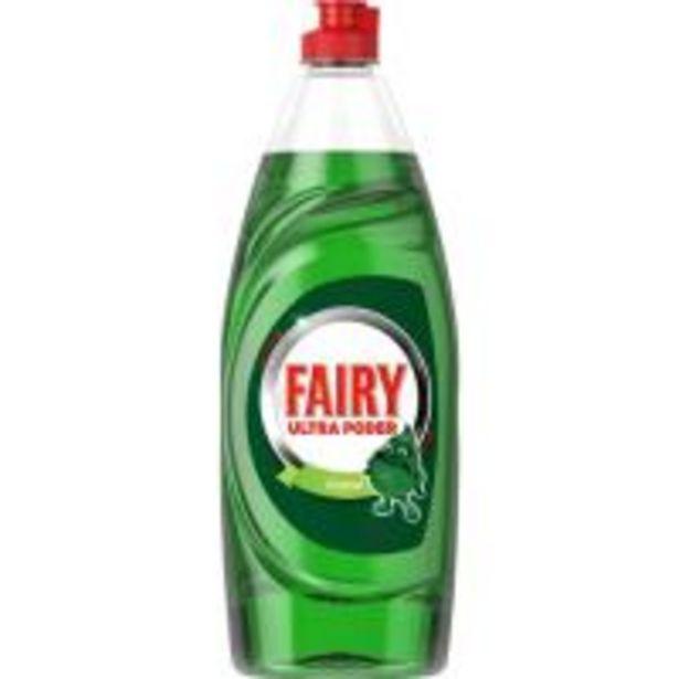 Oferta de Lavavajillas a mano ultra poder FAIRY, botella 650 ml por 3,35€