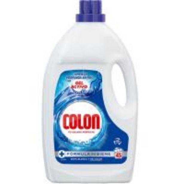 Oferta de Detergente en gel COLON, garrafa 40+5 dosis por 10,99€