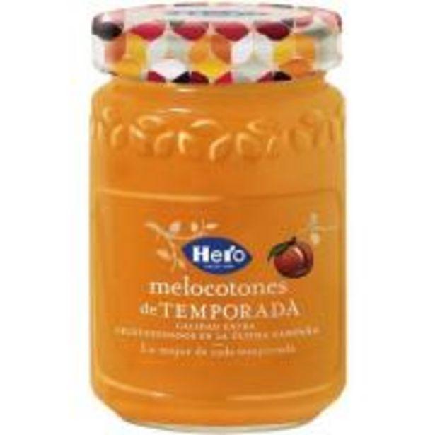 Oferta de Mermelada de melocotón de temporada HERO, frasco 350 g por 1,86€