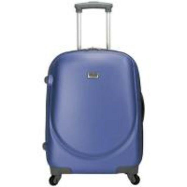 Oferta de Trolley de cabina ABS rígido: 4 ruedas, azul ROYAN, 1 ud por 35,9€