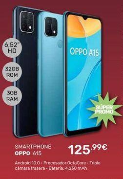 Oferta de Smartphones Oppo por 125,99€