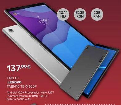 Oferta de Tablet Lenovo por 137,99€
