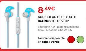Oferta de Auriculares bluetooth icarus por 8,49€