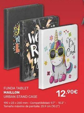 Oferta de Funda tablet Maillon por 12,9€
