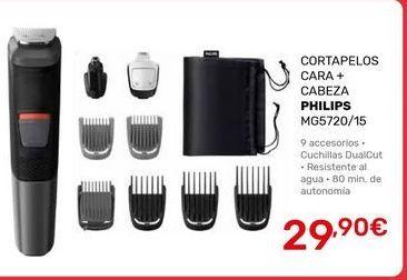 Oferta de Cortapelos Philips por 29,9€