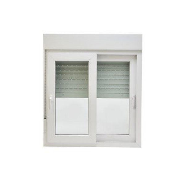 Oferta de VENTANA PVC BLANCA CORREDERA 100 X 118 CM por 225€