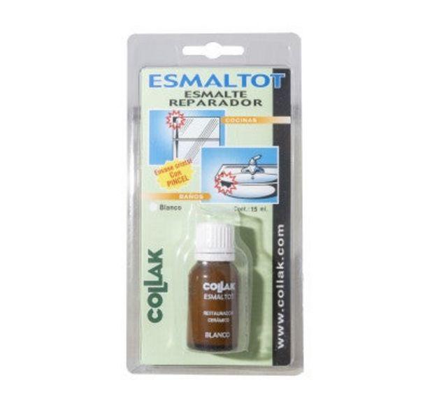 Oferta de ESMALTE REPARADOR CERÁMICO 15 ML por 4,05€