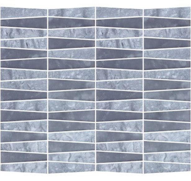 Oferta de MOSAICO PIEDRA NATURAL 30X30 CM. GEOMETRY BLACK por 8,95€