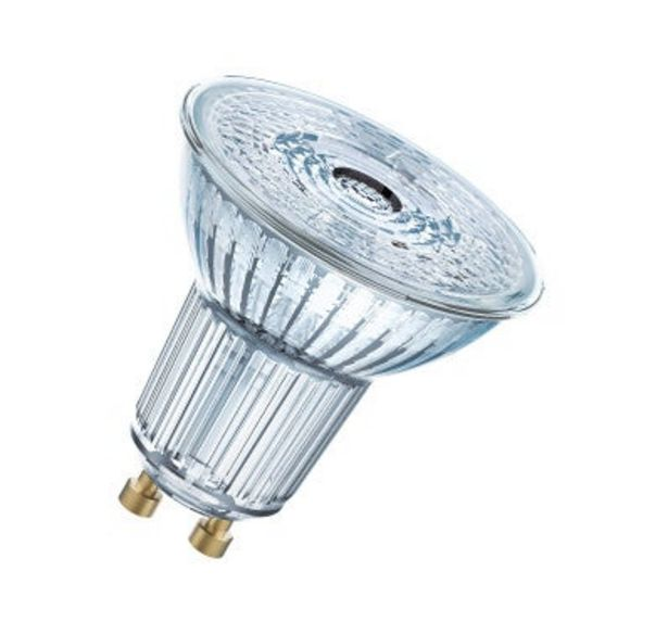 Oferta de BOMBILLA LED DICROICA REGULABLE GU10 350LM 5.5W LUZ CALIDA 36º por 4,75€