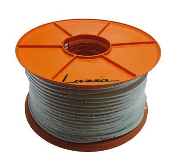 Oferta de CABLE COAXIAL 5G CPR-DCA BLANCO ROLLO 100 METROS por 49,21€