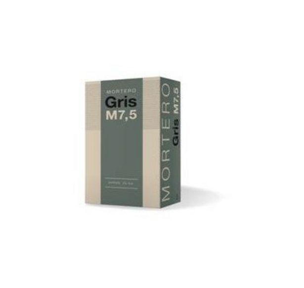Oferta de MORTERO SECO GRIS M7,5 25 KG por 1,3€