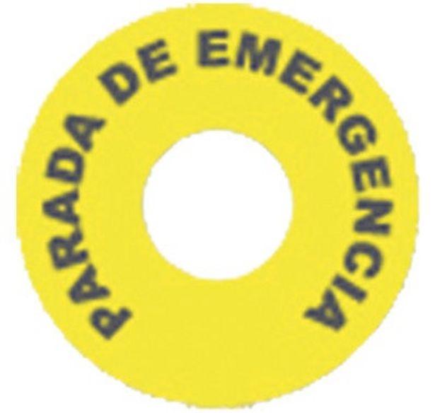 Oferta de ETIQUETA PARO DE EMERGENCIA por 1,5€
