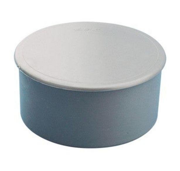 Oferta de TAPÓN PVC CIEGO Ø75MM por 1,75€