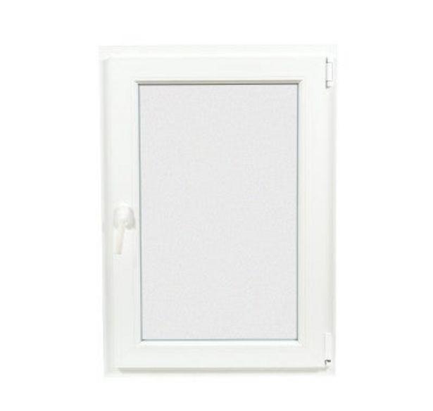 Oferta de VENTANA PVC BLANCA OSCILOBATIENTE 60 X 60 CM por 89€