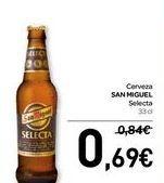 Oferta de Cerveza SAN MIGUEL Selecta  por 0,69€