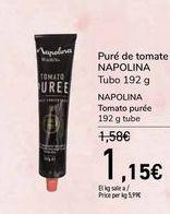 Oferta de Puré de tomate NAPOLINA por 1,15€