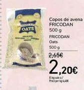 Oferta de Copos de avena FRICODAN por 2,2€
