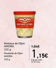 Oferta de Mostaza de Dijon AMORA por 1,15€