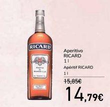 Oferta de Aperitivo RICARD por 14,79€