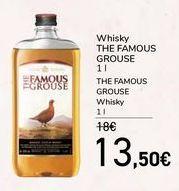 Oferta de Whisky THE FAMOUS GROUSE por 13,5€