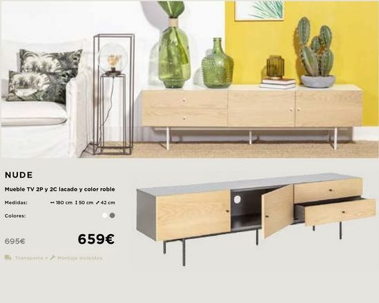 Oferta de Mueble tv por 659€