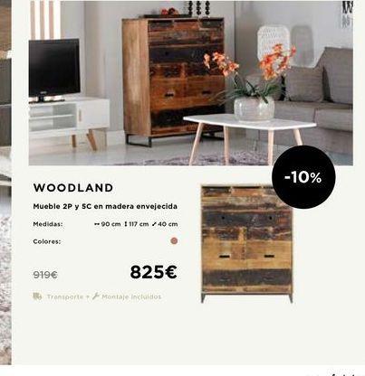 Oferta de Muebles por 825€