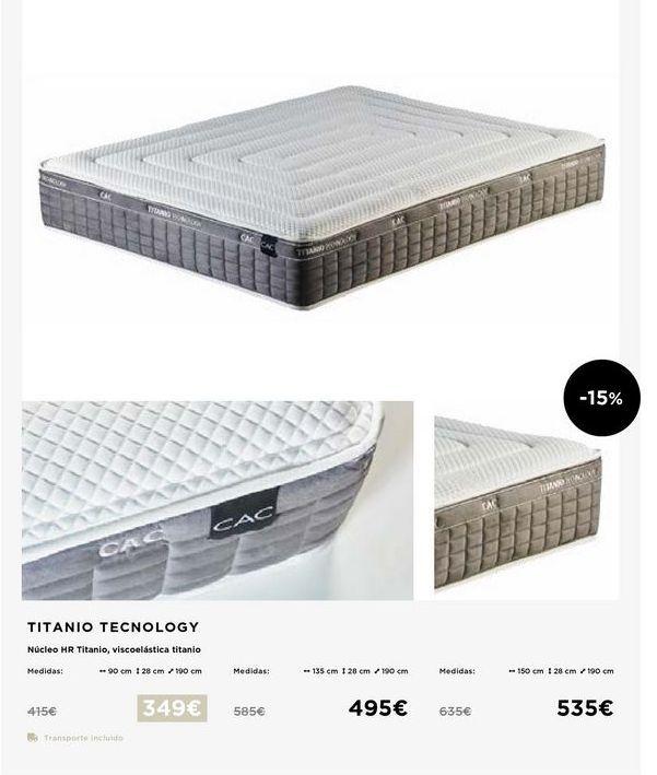Oferta de Colchones 90x28x190 por 349€