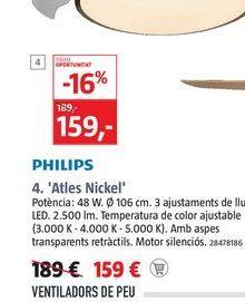 Oferta de Ventiladores Philips por 159€