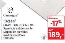 Oferta de Camargue Plato de ducha Ocean por 189€