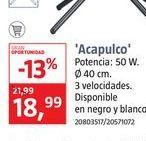 Oferta de Ventiladores ACAPULCO por 18,99€