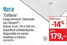 Oferta de Roca Plato de ducha Calipso por 179€