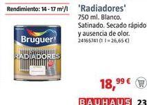 Oferta de Pintura para rodeadores Bruguer  por 18,99€