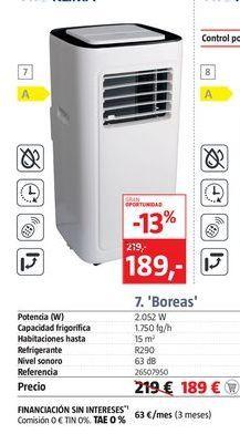 Oferta de Aire acondicionado portátil PRO KLIMA por 189€