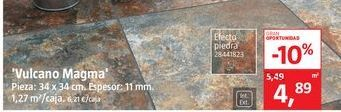 Oferta de Pavimento volcano Magna  por 4,89€