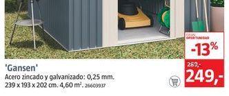 Oferta de Hoggar Caseta para jardín Gansen por 249€